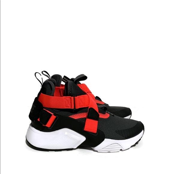 Nike Shoes   Nike Huarache City Gs Red
